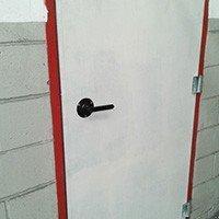 Fechadura para porta corta fogo no abc