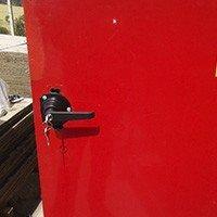 Instalação fechadura porta corta fogo
